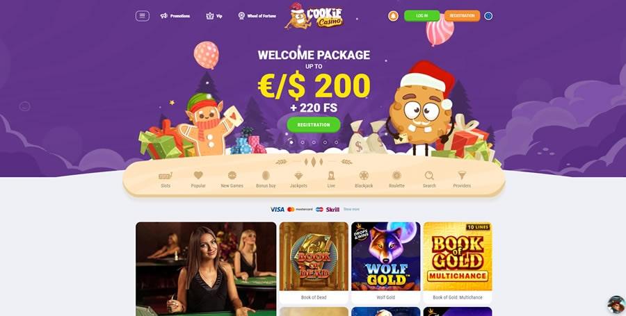 cookie casino index