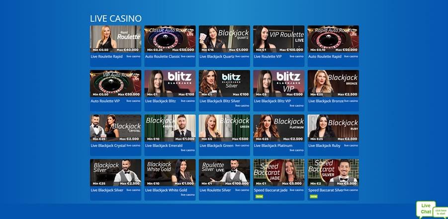 eskimo live casino